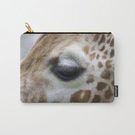 Eye of giraffe Carry-All Pouch
