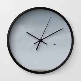 COYOTE POINT V Wall Clock