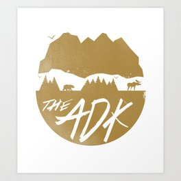 The Adirondacks  Art Print