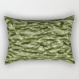 Crocodile camouflage Rectangular Pillow