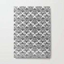 Life Pattern Metal Print
