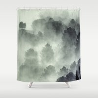 king Shower Curtains featuring The King by Guido Montañés