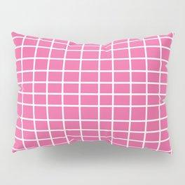 Squares of Pink Pillow Sham