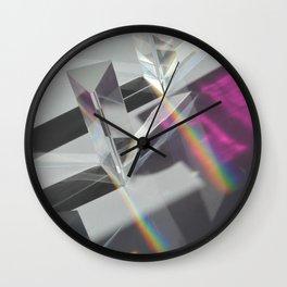 Prisms #3 Wall Clock