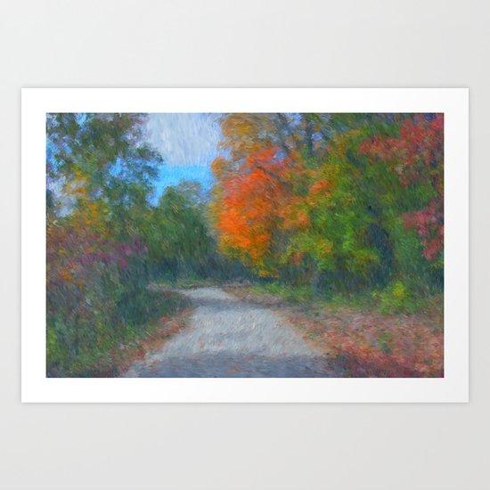 The Path  Impressionist Art Print
