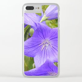 Chinese Bell Flower Clear iPhone Case