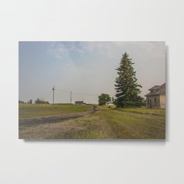 The Yellow House, Arena, North Dakota 2 Metal Print