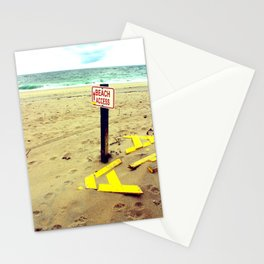 Beach Access Stationery Cards