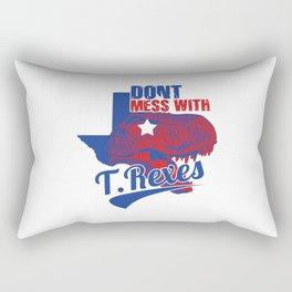 Don't Mess With T. Rexes Rectangular Pillow