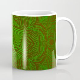 Natural 20 Mandala Woodland Stride Coffee Mug
