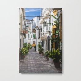 Amazing Marbella Metal Print