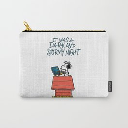 Snoopy Stormy Night Carry-All Pouch