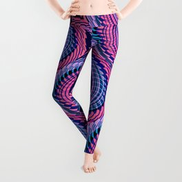 Colorful Decorative Buns #1 Leggings