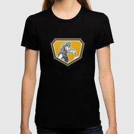 Sandblaster Sandblasting Hose Side Shield Retro T-shirt