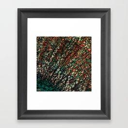 Microscope Framed Art Print
