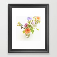 Flowers! Framed Art Print