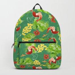 Tropical Shrimp Cocktail Backpack