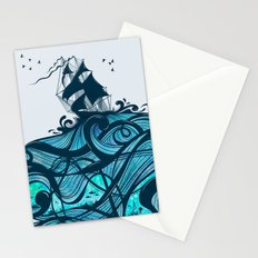 Upon The Sea Stationery Cards