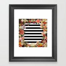 Modern Garden Framed Art Print