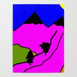 Carpathian Mountains Poster