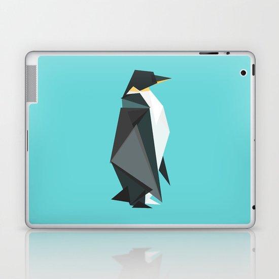 Fractal geometric emperor penguin Laptop & iPad Skin