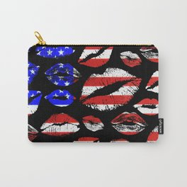 Kiss The Flag Carry-All Pouch