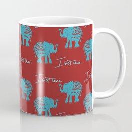 I got this blue elephant Coffee Mug