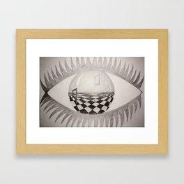 Look Into My World Framed Art Print