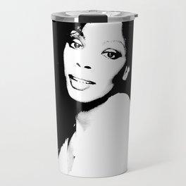 Donna Summer B&W  Travel Mug