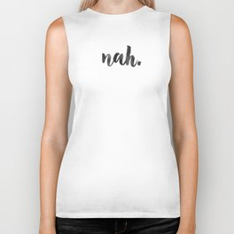 NAH Marble Quote Biker Tank