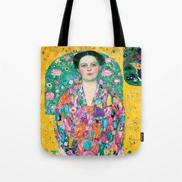 "Gustav Klimt ""Eugenia Primavesi"" Tote Bag"