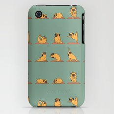 Pug Yoga iPhone (3g, 3gs) Slim Case