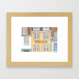 Home#4 Framed Art Print