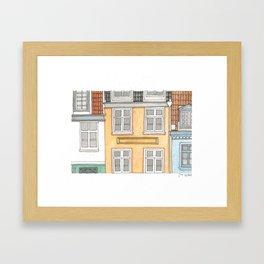 Home#4 Framed Art Print