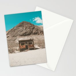 In The Middle of Nowhere | Rhyolite, Nevada Stationery Cards
