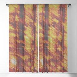 the light aslant Sheer Curtain