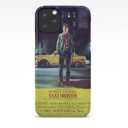 Taxi Driver, Vintage Poster, 1976 iPhone Case