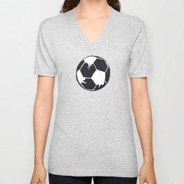 Art Football Unisex V-Neck