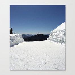 View from Superstar, Killington Canvas Print