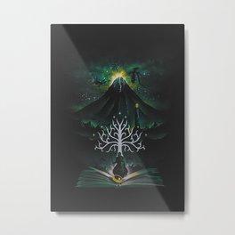 Book Of The Return Metal Print
