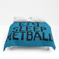 Eat Sleep Netball Comforters