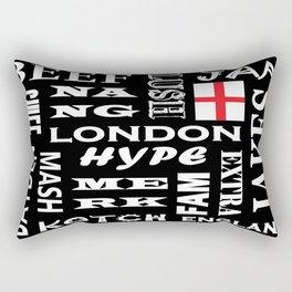 London Slang Rectangular Pillow