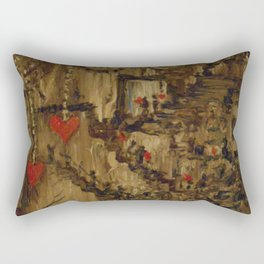 Steampunk Manufactured Love Rectangular Pillow