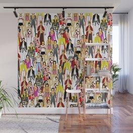 Freddie Line Up Wall Mural