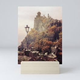 One sunny morning in San Marino Mini Art Print