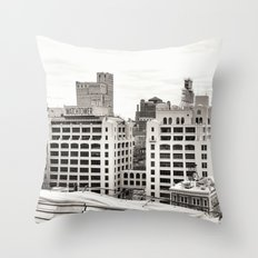 New York's Watchtower Throw Pillow
