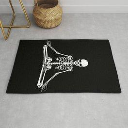 Meditation Skeleton Rug