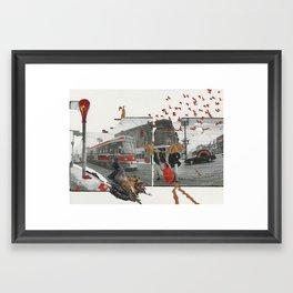 A Winter Afternoon Framed Art Print