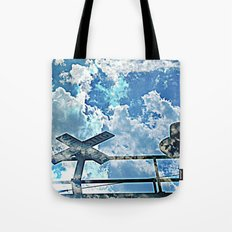 A Place In The Clouds Tote Bag