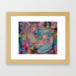 let it all out Framed Art Print